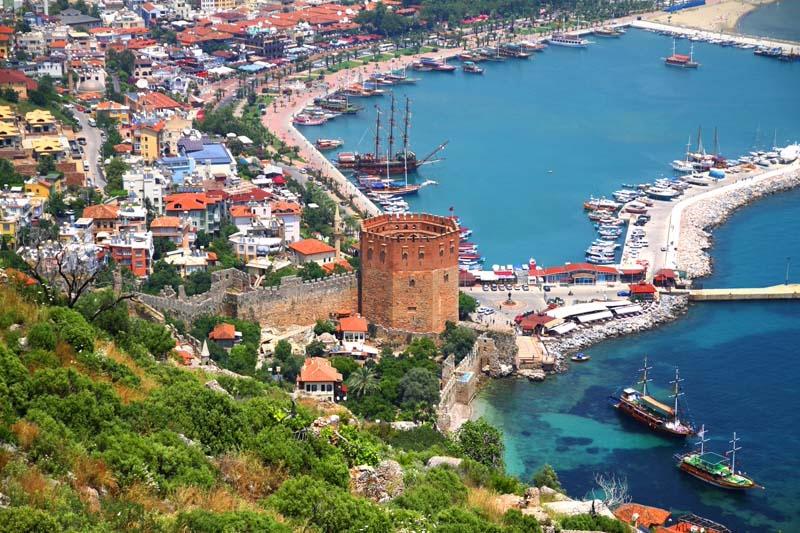 Gazipaşa - Antalya uçak bileti