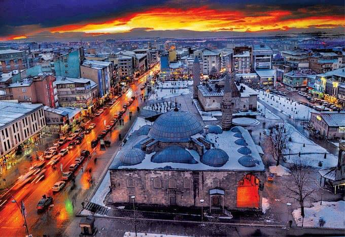 Amasya - Erzurum uçak bileti