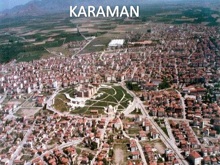 Uşak - Karaman uçak bileti